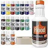 Floetrol Pouring Medium for Acrylic Paint Pouring Bundle 1-Quart   Flood Flotrol...