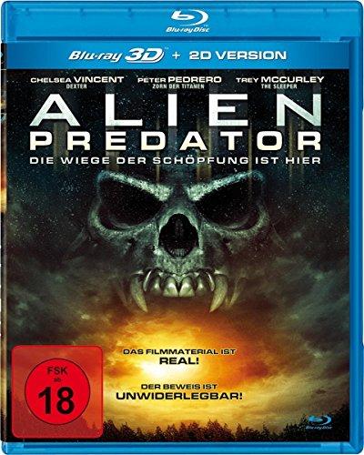 Alien Predator UNCUT (3D+2D) - Die Wiege der Schöpfung ist hier [Alemania] [DVD]