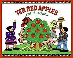 Ten Red Apple by Pat Hutchins great book for Toddlers and Preschoolers A is for Apple week