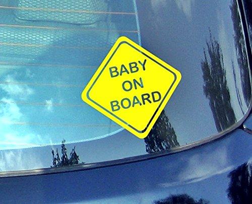 Baby On Board???Enfants Autocollant de voiture Drift Bumper fen?tre de voiture en vinyle dr?le van pour ordinateur portable C?ur D?cor Home Live enfants Funny Art mural Decal Stickers