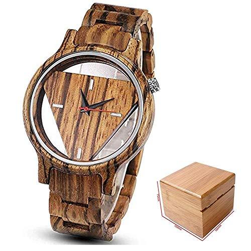 Herrenuhren aus Holz aus 100% Bambus für einen einzigartigen Lebensstil - natürlich, leicht,Braun