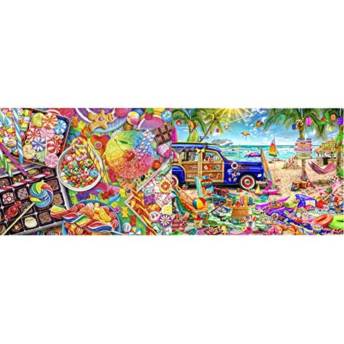 Buffalo Games Candylicious - 1000 Piece Jigsaw Puzzle Now $10.99 (Was $29.98)
