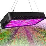 Honesorn 600W LED Grow Light, Full Spectrum Growing Lamp with Veg&Bloom Switch UV&IR, Indoor Garden Plant Light with Adjustable Rope, Grow Lights for Indoor Plants, Greenhouse (600w)