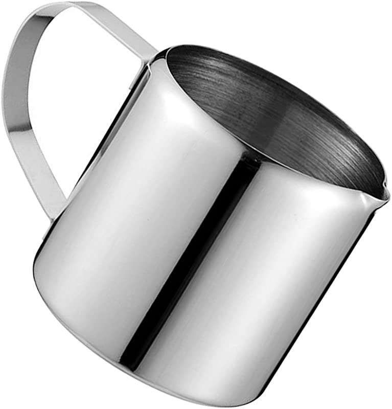 D DOLITY Milk Frothing Pitcher Stainless Steel Metal For Milk Frothers Espresso Cappuccino Coffee Creamer Steaming Chef Motta 2oz
