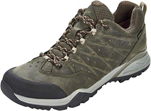 The North Face Hedgehog Hike II GTX, Zapatillas de Senderismo Hombre, Verde (Tarmacgreen/Burntolivegrn 4Dd), 42 EU