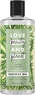 Love Beauty and Planet Shower Gel Delightful Detox Tea Tree & Vetiver, 400ml