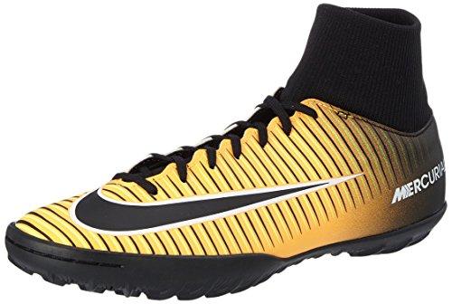 Nike Mercurialx Victory VI DF Tf, Scarpe per Allenamento Calcio Uomo, Arancione (Laser Orange/Black/White/Volt), 42.5 EU