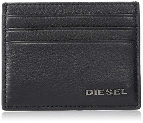 Diesel X06628 P0396 JOHNAS II Billeteras y Tarjeteros Hombre BLACK UNI