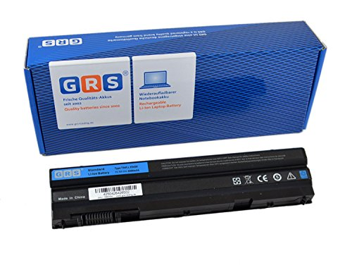 GRS Batterie pour Dell Latitude E5420 E5520 E5530 E6420 Inspiron 4520 4720 5720 7420 7520 7720 N7520 Vostro 3460 3560 remplacé: P8TC7 P9TJ0 R48V3 PRRRF RU485 T54F3 T54FJ UJ499 YKF0M X57F1 04NW9