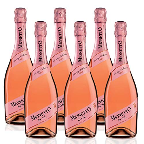 Mionetto Rosé Extra Dry (6 x 0.75 l)