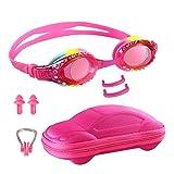 Ambielly Gafas de natación para niños, Gafas de natación antivaho para niños, Gafas de natación sin Fugas para niños de 5 a 12 años