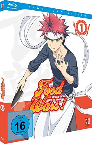 Food Wars! Shokugeki no Soma - Staffel 1 - Vol.1 - [Blu-ray]