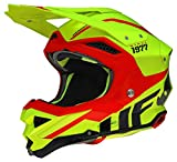 8011320523VAR - Casco enduro offroad motocross DIAMOND HE045XS COLOR AMARILLO/ROJO TALLA L