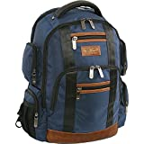 ORIGINAL PENGUIN Peterson Backpack Fits Most 15-inch Laptop and Notebook, Navy, One Size