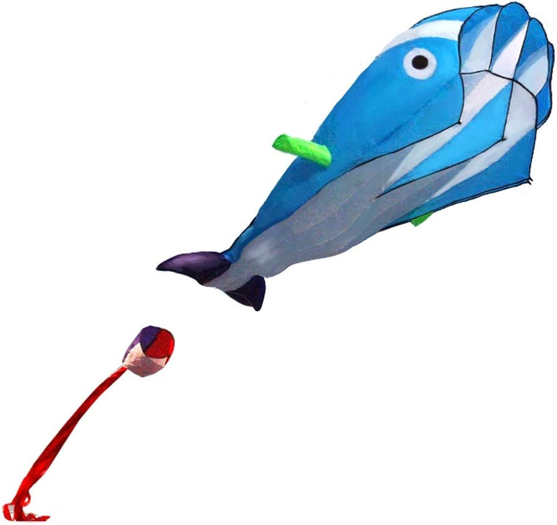 Soft Kite, Kind Strand tragbare Licht Kite Whale Form dreidimensionale Outdoor Reise Kite, 200  100 cm (Farbe   Blau)B07QG9G3MCSofortige Lieferung  | Verbraucher zuerst