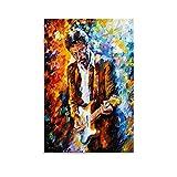 LIULANG Art Eric Clapton Poster dekorative Malerei Leinwand