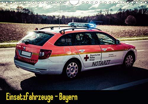Einsatzfahrzeuge - Bayern (Wandkalender 2021 DIN A4 quer)