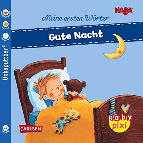 Baby Pixi (unkaputtbar) 88: HABA Erste Wörter: Gute Nacht (88)