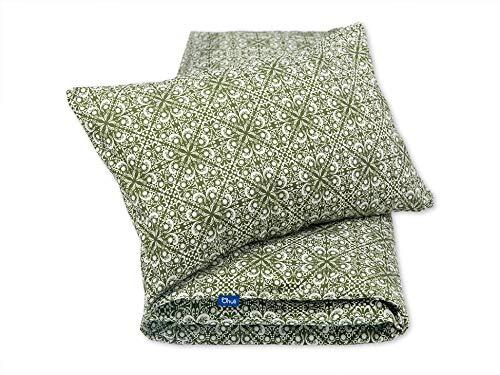 Pepi Leti 685843716037 - Juego de cama infantil, diseño de aceitunas, multicolor