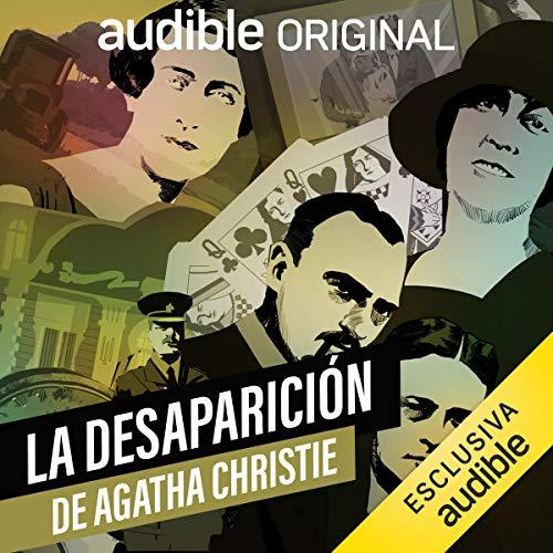 Diseño de la portada del título La desaparición de Agatha Christie