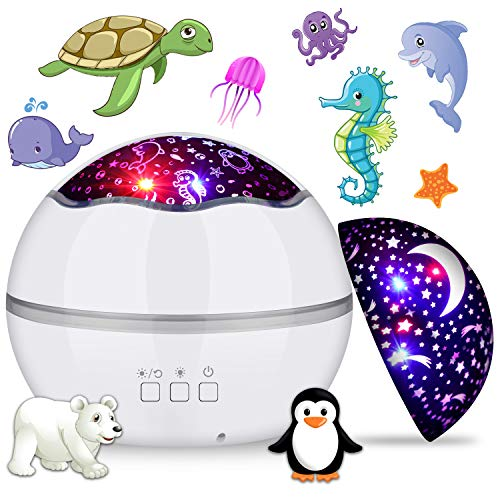 proyector estrellas bebe de la marca MIANTANG
