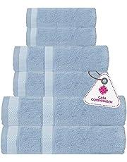 CASA COPENHAGEN Solitaire Egipcio algodón 600g/m², Sala de baños, Mano y servilleta / Toallas Junto