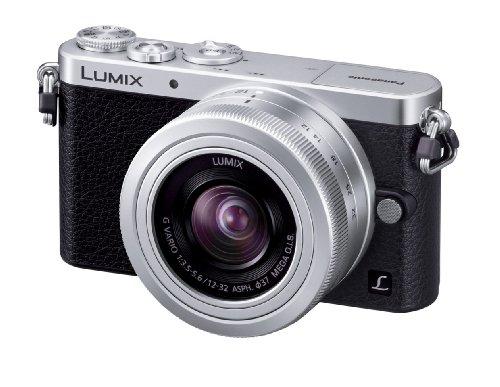 パナソニック デジタル一眼カメラ ルミックス GM1 レンズキット 標準ズームレンズ付属 シルバー DMC-GM1K-S