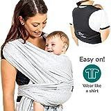 Koala Babycare Fascia porta bambino facile da indossare (easy on),...