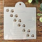 Plantillas de dibujo de pintura, 15 cm, diseño de gato y perro, para manualidades, para pintar álbumes de recortes, para colorear en relieve, álbum decorativo para tarjetas