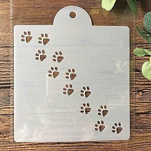 Plantillas de dibujo de pintura, 15 cm, diseño de gato y perro,...