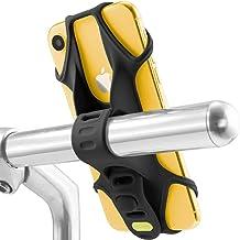 Bone Bike Tie 2 自転車 スマホ ホルダー 全シリコン製 超軽量 脱着簡単 脱落防止 4-6.5インチのスマホに対応 iPhone 11 Pro Max XS XR X 8 7 6S Plus Xperia ZX3 Galaxy ...