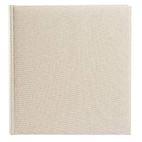 Goldbuch álbum de Fotos, Summer Time Trend 2, 30x 31cm, 100páginas Blancas con pergamino de separadores, Lino, Beige, 31605