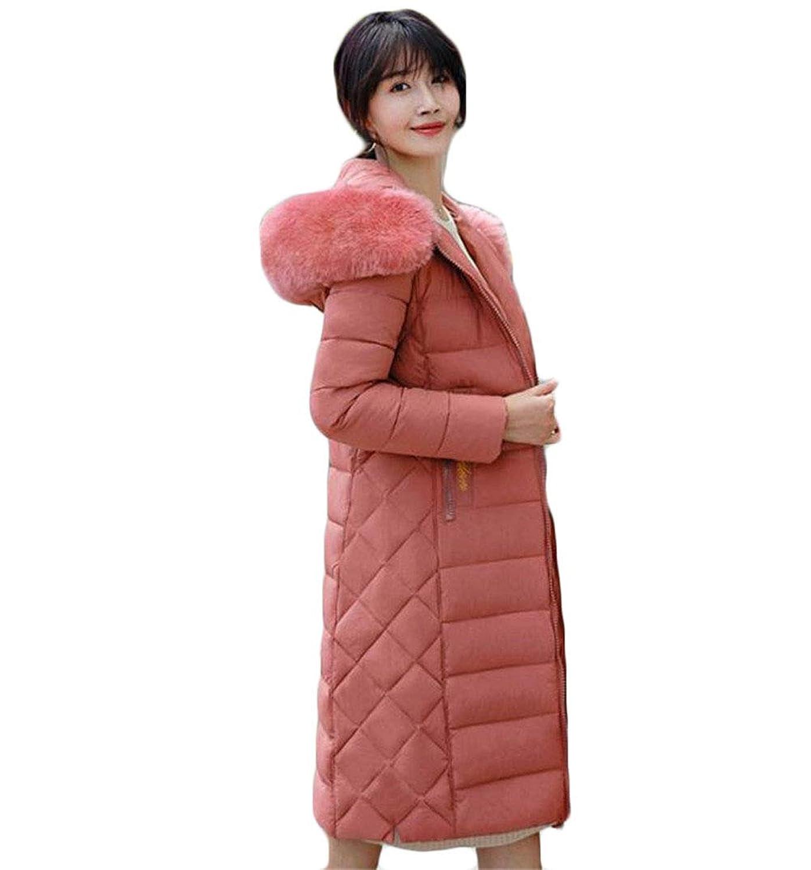 [ヤンーチ] ダウンコート レディース ロング ダウンジャケット 秋冬 防寒 無地 中綿 ゆったり 厚手 防風 中綿コート 通勤 通学 大きいサイズ かわいい ファッション