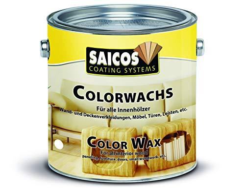 Saicos Colour GmbH 500 3013 Colorwachs, birke, 2,5 Liter