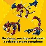 Immagine 2 lego creator 3in1 drago del