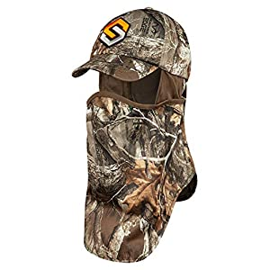 ScentLok Full Season Mid Weight Ultimate Headcover (Realtree Edge, One Size)