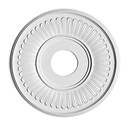 HOMESTAR Stuckrosette / Deckenrosette Silva, Durchmesser 37 cm, 25240