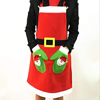 Best red christmas apron Reviews