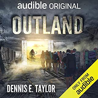 Outland audiobook cover art