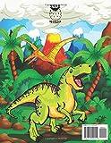 Zoom IMG-1 dinosauri libro da colorare per
