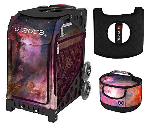 Zuca Galaxy Sport Insert Bag & Black NFW Frame with Gift Lunchbox...