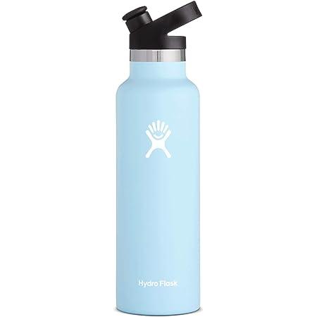 Hydro Flask 21 Oz Water Bottle Sport Cap Frost Sports Outdoors