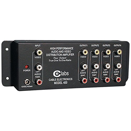 Price comparison product image Cable Electronics Labs AV 400 Prograde Composite A / V Distribution Amplifiers