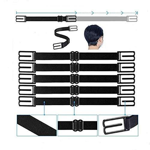 5 Stück Extender Anti-Rutsch Ohrclips Griffband Verlängerungshaken Einstellbare Schnalle (C)