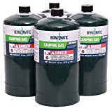 Bernzomatic 16.4 oz. Camping Propane Gas Cylinders (4-Pack)