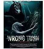 Wrong Turn Movie 2021 Cover Klassische Poster Artwork