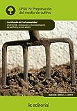 Preparación del medio de cultivo. agao0208 - instalación y mantenimiento de jardines y zonas verdes