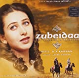 Zubeidaa (Hindi Music/ Bollywood Songs / Film Soundtrack / Karishma Kapoor/Rekha/ Manoj Bajpai/A.R.Rahman/ Oscar winner for Slumdog Millionaire / Indian Music) by Udit Narayan, Alka Yagnik, Richa Sharma, Kavita Krishnamurthy, Sukhwinder Singh, (2008-04-01)