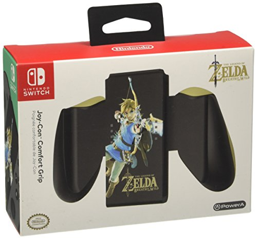 nintendo switch comfort grips PowerA Joy-Con Comfort Grip for Nintendo Switch - Zelda: Breath of the Wild