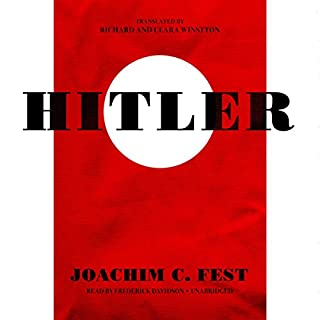 Hitler audiobook cover art
